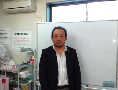 有限会社セナ 代表取締役 増渕清利 様